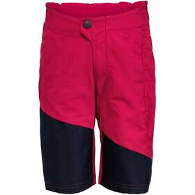 VAUDE Moab Pantaloncini Bambino, rosso/nero
